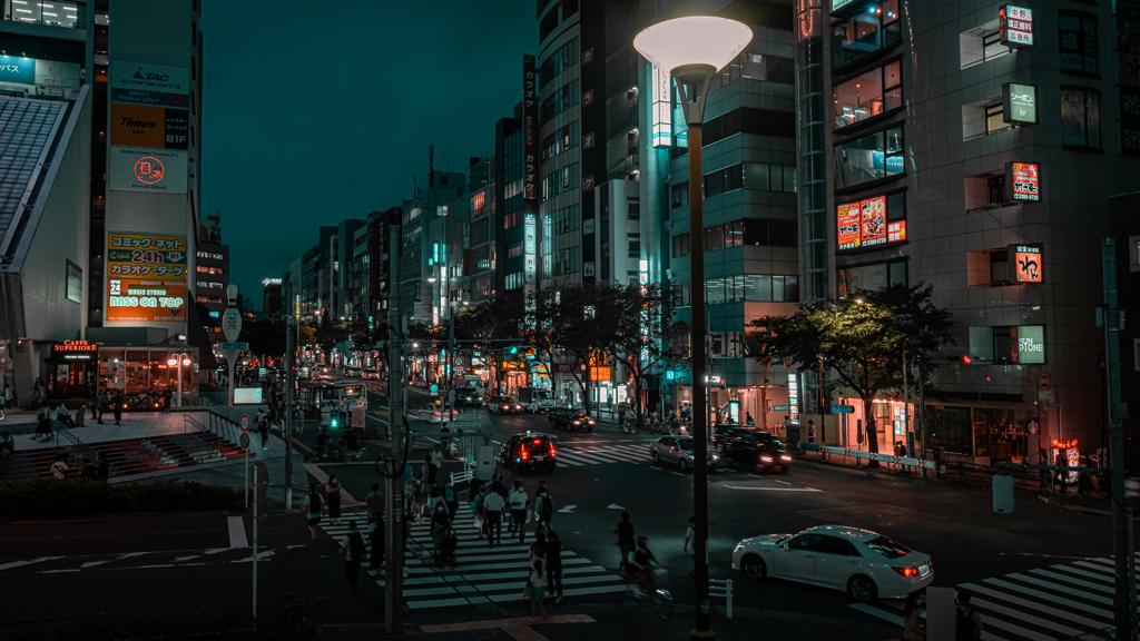 中野 夜景