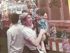 祖父、札幌のお祭り、3歳の僕