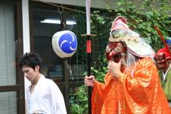 近所の伝統的な祭り(深津紘二朗)
