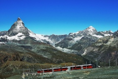 スイス鉄道。