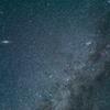 アンドロメダ銀河とカシオペア