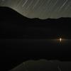 赤城山 大沼と星