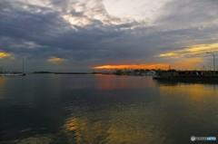 夕陽のパレット