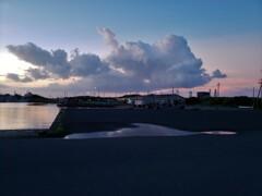 夕空を泳ぐ