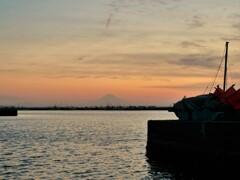 港の夜景楽し( ^ω^)・・・