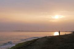 岬の朝…秋を釣って下さい