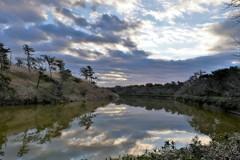 富津岬…朝の光