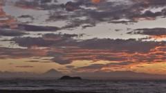 2012年7月の夕景…富津岬から