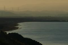 晩夏の岬…朝凪の浜にて