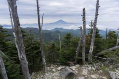 金峰山・鉄山・朝日岳・富士山