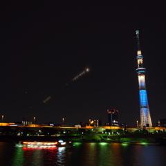 月食・・・を撮ったつもり(>_<)