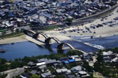 錦帯橋(ジオラマ)