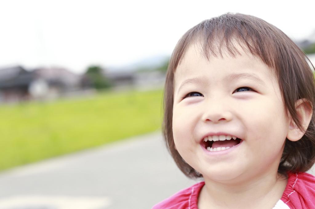 癒しの笑顔