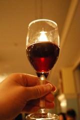 ローソクのようなワイン