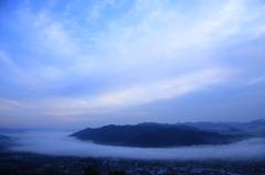 雲の通り道