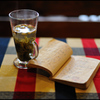 ジャスミン茶を飲みながら...
