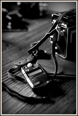 ROLLEIの傍で...