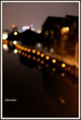 水郷の灯り