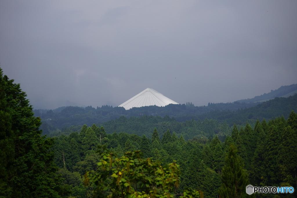 日本海の「城富士」