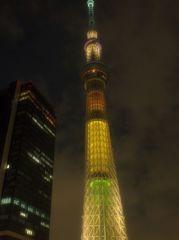 東京五輪招致特別ライトアップ