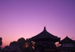 南円堂の夕景