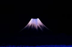 浮かび富士