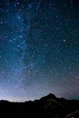 星降る夜明け前