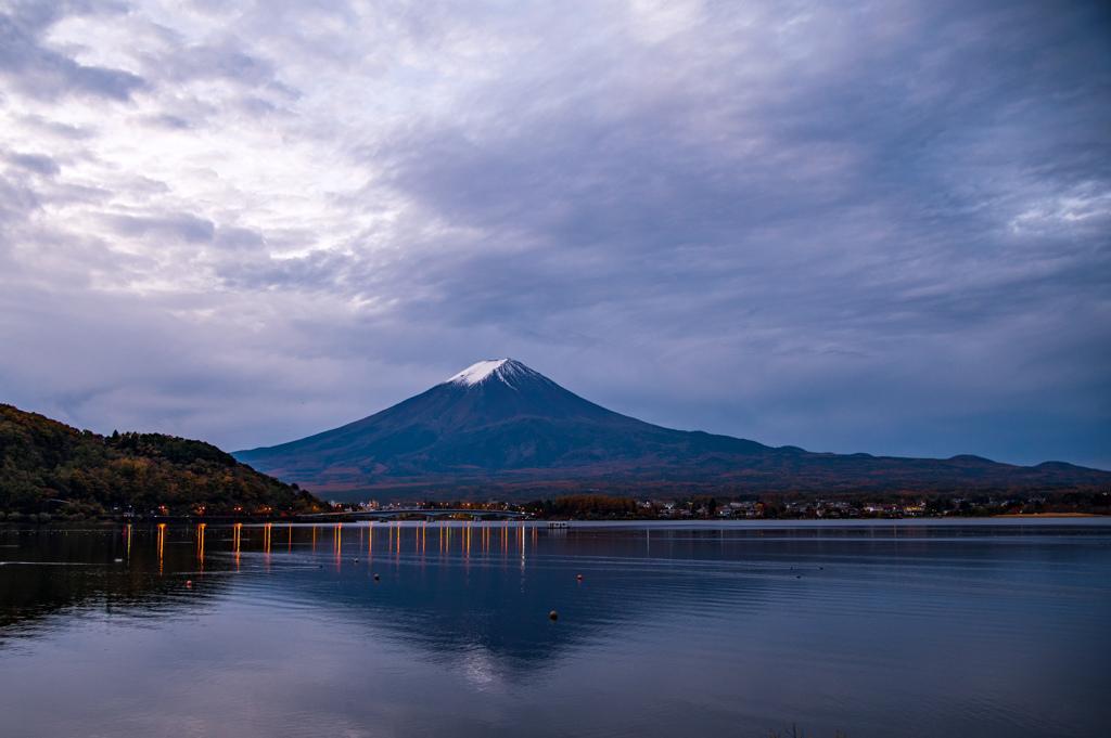 未明の富士