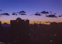 東京から富士山へ