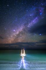 コーラルブルーの海