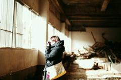 girl × ruins