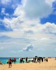 前浜ビーチは夏だった