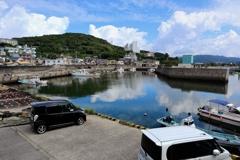 9月5日の宮崎漁港