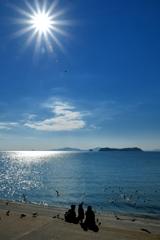 あれ見てッ キラキラ海で思い出つくり