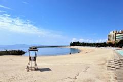 夏の名残 9月5日のビーチ