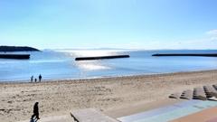 冬晴れビーチ