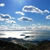 雲泳ぐ正月の三河湾 明けましておめでとうございます。