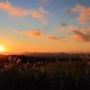 高原の日の出