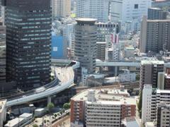 とある梅田の道路