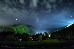阿智村の夜