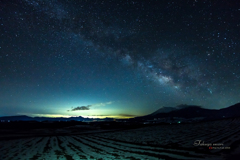 浅間の夜空