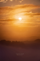 陽が昇る頃