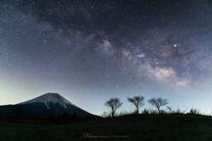 銀河の昇る頃