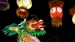 中華街の竜
