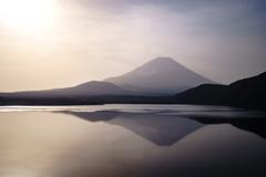 本栖湖より逆さ富士