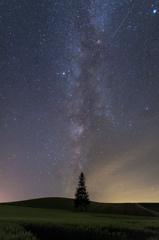 銀河昇る丘