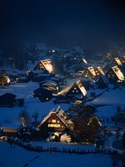 白川郷冬景色Ⅱ