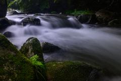 滝の流れⅢ