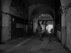 JR国道駅の構内3