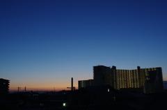 夜明け前のひと時